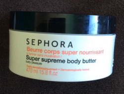 Body moisturizing cream for the next days (daily use)